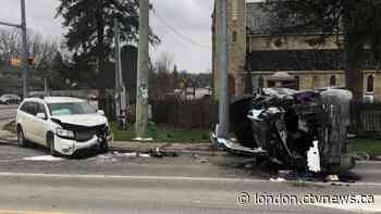 Two people extricated in Arva crash | CTV News - CTV News London