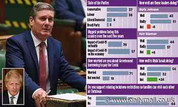 Sir Keir Starmer takes the lead as the PM fights Tory revolt