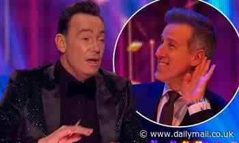 Strictly: Craig Revel-Horwood has playful tiff with Anton Du Beke