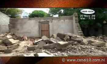 Colapsan dos viviendas en Ocotal tras varios días de lluvias - canal10.com.ni