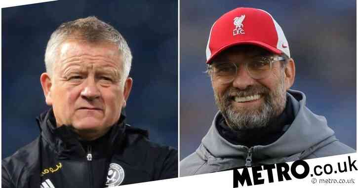 Chris Wilder responds to Jurgen Klopp after being called 'selfish' by Liverpool manager
