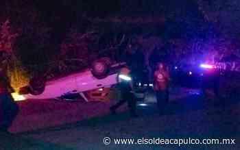 Muere taxista tras volcadura en Ometepec - El Sol de Acapulco