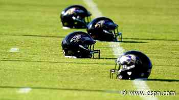 Ravens up to 18 players on COVID list this week