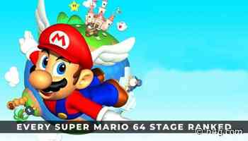 Every Super Mario 64 Stage Ranked