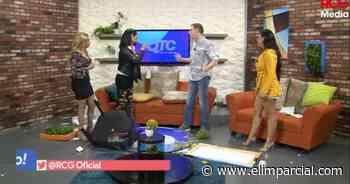 Fuerte pelea en programa: Pamela Chup, estrella de TikTok, destruye escenografía - ELIMPARCIAL.COM