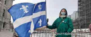 Manifestation à Montréal pour dénoncer l'effritement du français