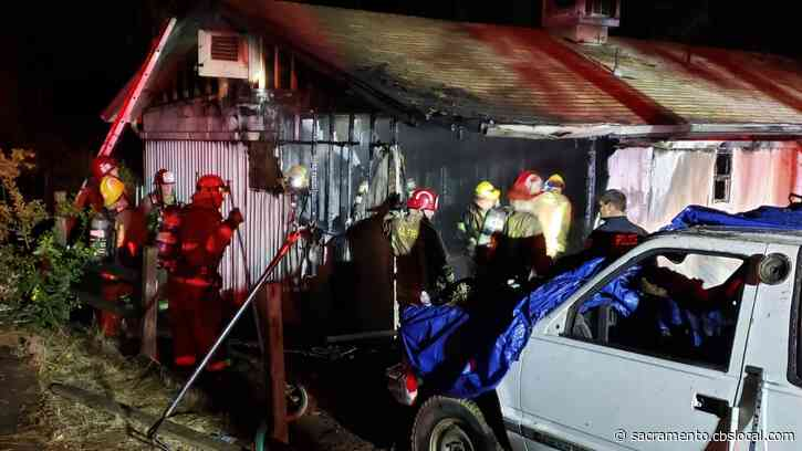 Mobile Home Fire In Butte County Kills 1