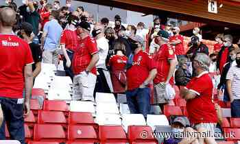 Football fans may NOT have to wear masks inside stadiums and undergo temperature checks