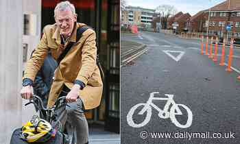 JEREMY VINE tells Nigel Havers: Scrap cycle lanes and I'll swap bike for Chelsea tractor
