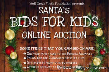 Wolf Creek Youth Foundation online auction gets 'overwhelming' response - Rimbey Review