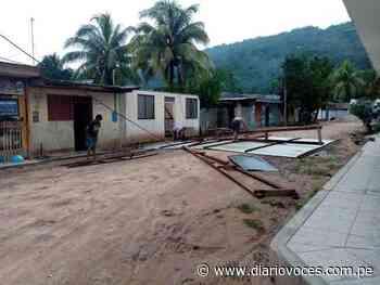 Alto Saposoa – Pasarraya: Fuertes vientos con lluvia y granizo deja 15 viviendas sin techo en distrito de - Diario Voces