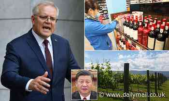 Scott Morrison supports wine industry after China introduces 212 per cent tariff