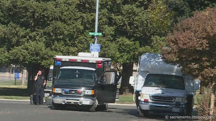 Stockton Police Engage In Standoff With Assault Suspect