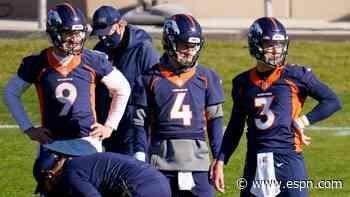 All Broncos QBs unavailable Sunday vs. Saints