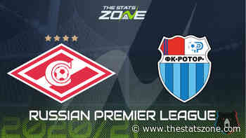 Russian Premier League 2020-21 - Spartak Moscow vs Rotor Volgograd Preview and Prediction - The Stats Zone