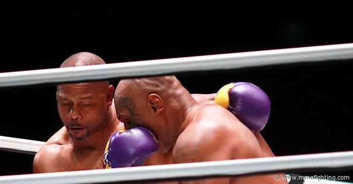 Mike Tyson vs. Roy Jones Jr. full fight video highlights