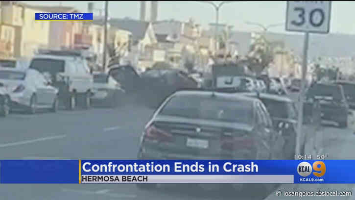 Apparent Road Rage Crash In Hermosa Beach Temporarily Stalls Traffic