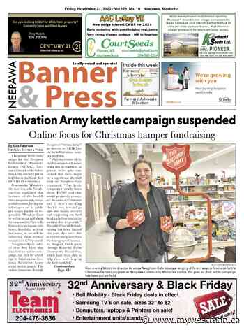 Friday, November 27, 2020 Neepawa Banner & Press - myWestman.ca