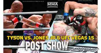 Video: Mike Tyson vs. Roy Jones Jr./UFC Vegas 15 post-fight show