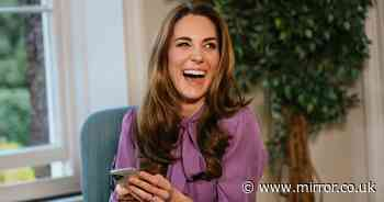Kate Middleton jokes about having to deal with her children's temper tantrums