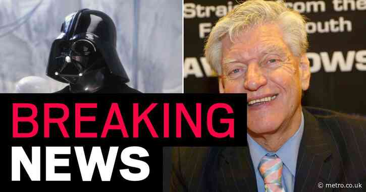 Star Wars Darth Vader actor David Prowse dies aged 85