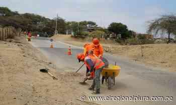 GORE ejecuta labores de mantenimiento rutinario en carretera departamental Marcavelica-Sullana - El Regional
