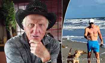 Greg Norman, 65, finds the reaction to his jaw-dropping beach photo 'amusing'