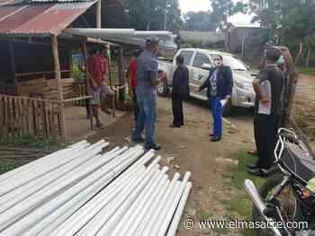 INDENOR entrega materiales para rehabilitación acueducto de Piedra Blanca y La Guama - El Masacre