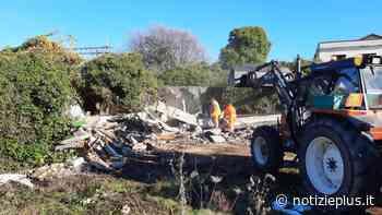 San Dona' di Piave: sgomberati insediamenti abusivi nell'area dell'ex cantina sociale - Notizie Plus - Notizie Plus