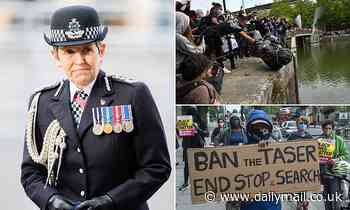 Stop-and-search 'SAVES Black Lives', says Scotland Yard chief Cressida Dick