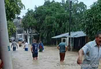 Cerca del 50% de Cartagena del Chairá está inundado por las lluvias - Alerta Tolima