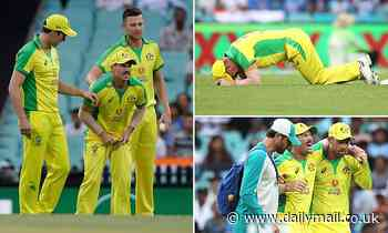 David Warner suffers serious groin injury in Australia's match again India