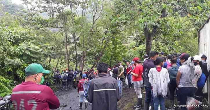 Video: enfrentamientos entre guaqueros y Esmad en Muzo, Boyacá, dejan siete heridos - infobae