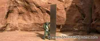 États-Unis: disparition du mystérieux monolithe de métal dans le désert