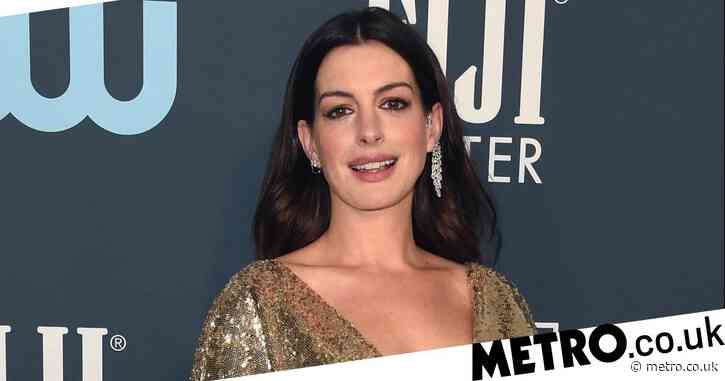 Anne Hathaway reveals being a mum during lockdown has been 'a learning curve'