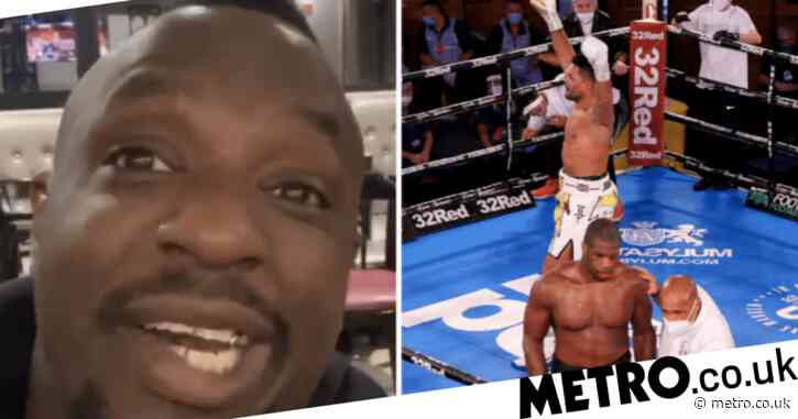 Dillian Whyte slams 'c***s' Daniel Dubois and Frank Warren for 'quitting' against Joe Joyce