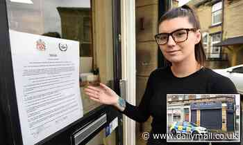 Salon owner who racked up £27,000 in Covid fines for refusing to close is forced to shut by council