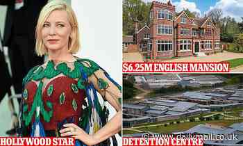 Cate Blanchett slams Australia over refugees - while living in $6.25million English mansion