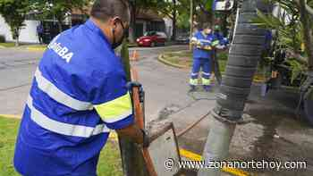 Limpieza de sumideros en Carapachay - zonanortehoy.com