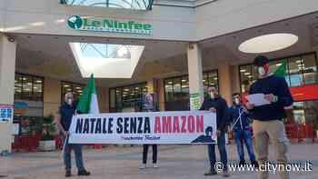 Reggio, le mascherine tricolori tornano in piazza: 'Natale senza Amazon' - CityNow