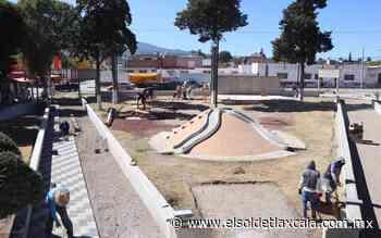 Remodelan parque en Huamantla - El Sol de Tlaxcala