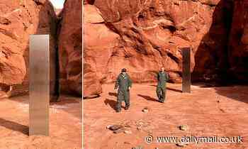 Mysterious monolith found in remote Utah desert is removed by 'unknown party'