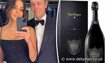 Pia Miller gifted $700 bottle of Dom Pérignon to celebrate her engagement to Patrick Whitsell
