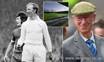 Jack Charlton's grand-daughter hopes renaming of Elland Road's East Stand will cement Leeds legacy