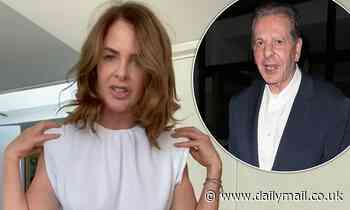 Trinny Woodall says 'self-touch' helps her to cope with being apart from other half Charles Saatchi