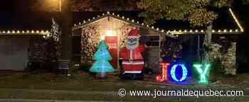 Un Américain reçoit une lettre raciste pour avoir installé un père Noël noir en décoration