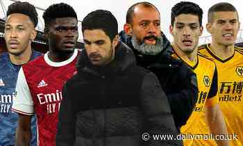 Which of Arsenal and Wolves looks more likely to finish in the top six after indifferent starts?