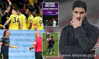 Does Mikel Arteta have a disciplinary issue at Arsenal after red cards and training ground bust ups?