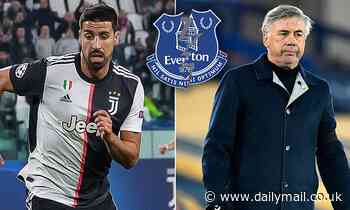 'A January exit will certainly not happen': Everton dealt blow in their pursuit of Sami Khedira