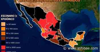 Mapa del coronavirus en México 29 de noviembre: más de 10,000 contagios en 24 horas por cuarto día consecutivo - infobae